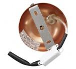 Suspension boule BAILA design aluminium couleur Cuivre Rosé