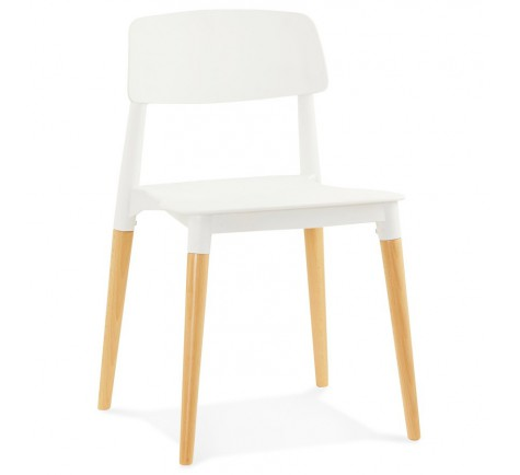 Chaise Scandinave SCANDY Blanc