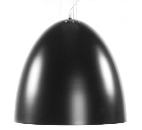 Suspension Cloche XENA design  en Aluminium peint Noir