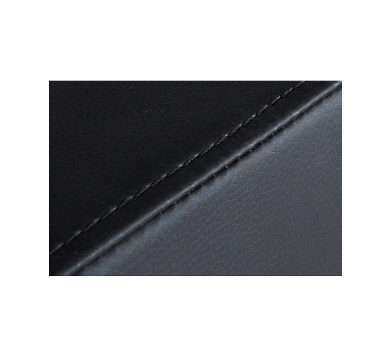 Tabouret de bar simili cuir blanc acier bross inoxydable - Tabouret haut avec dossier ...