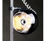 Lampe de bureau à poser TARA design en Métal Blanc