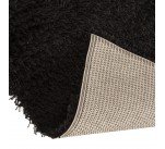Tapis design TARIS 160/230 CM à poils long BEIGE FONCE