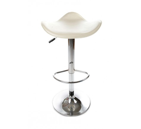 Tabouret de bar COW  en similicuir rouge