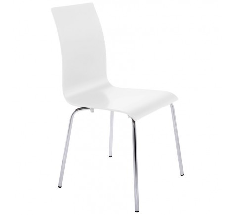 Chaise moderne LINEA Blanc