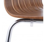 Chaise design WOOD Noyer