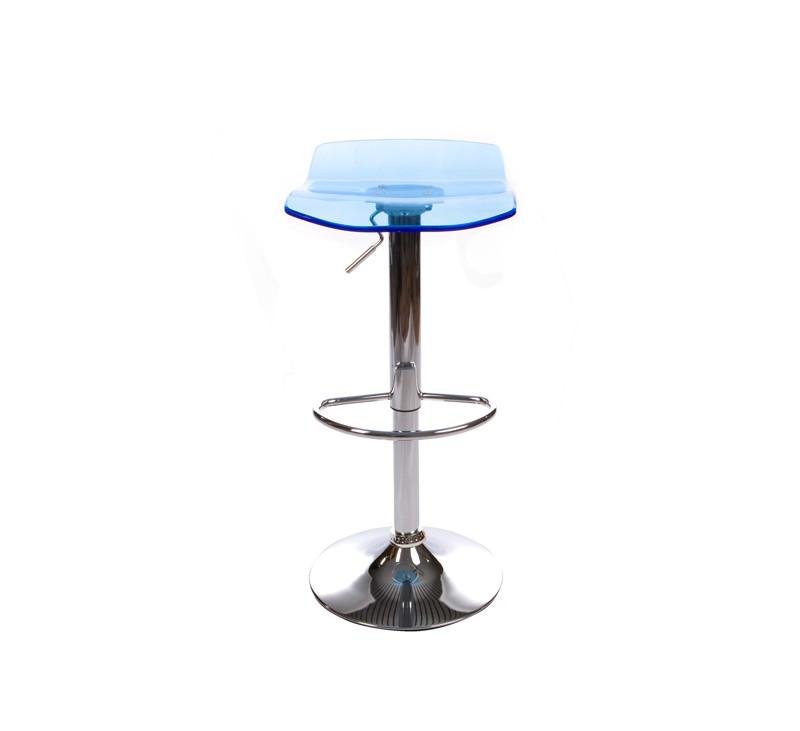 tabouret de bar liu bleu dkoshop. Black Bedroom Furniture Sets. Home Design Ideas