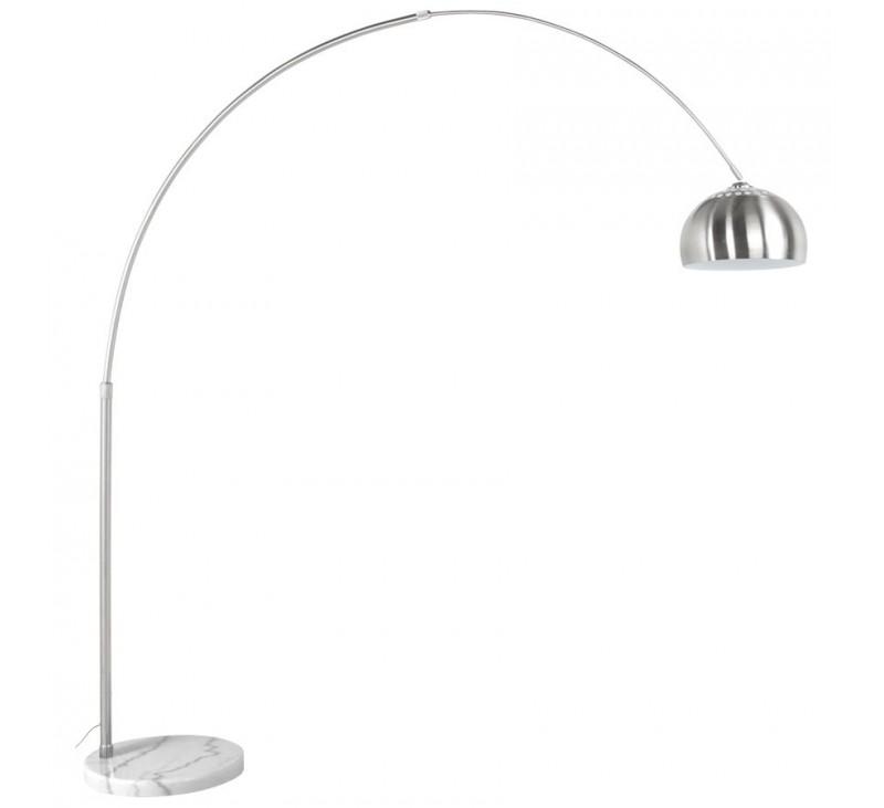 lampadaire design retro xxl acier bross