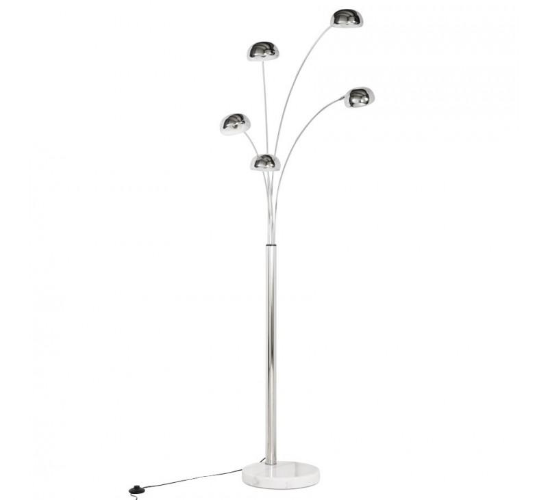 lampadaire 5 branches design m tal multicoloris. Black Bedroom Furniture Sets. Home Design Ideas